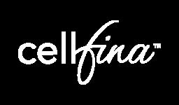 logo CELLFINA blanc
